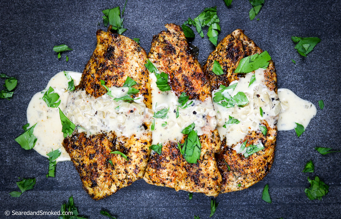 cajun chicken breasts with white wine cream sauce