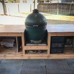 diy large green egg table