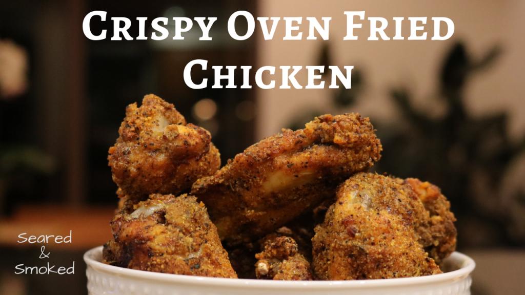 crispy oven fried wings