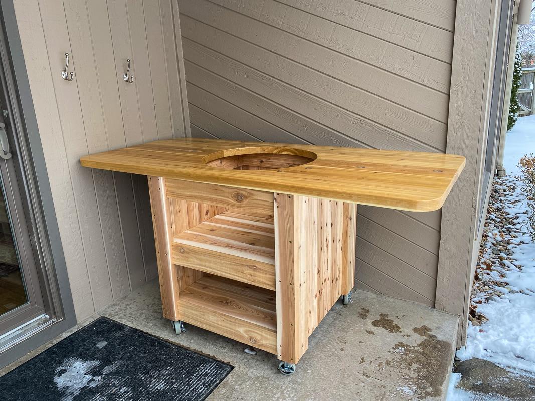 compact modern green egg table-4