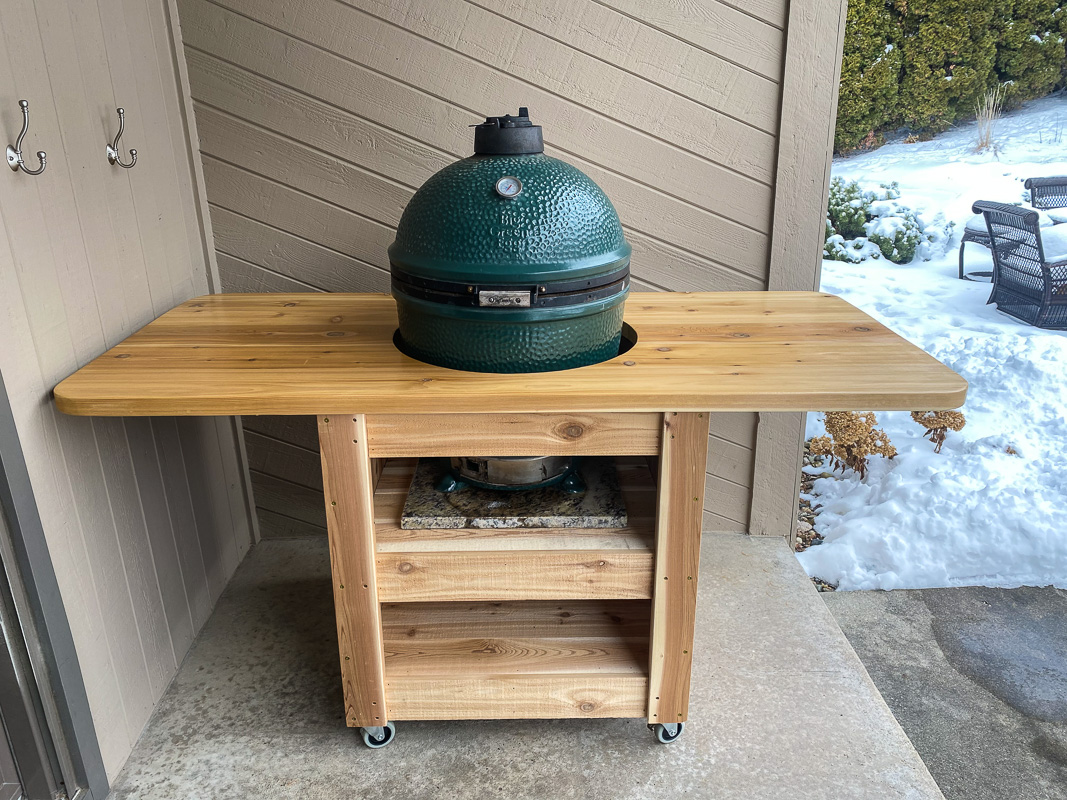 compact modern green egg table-8