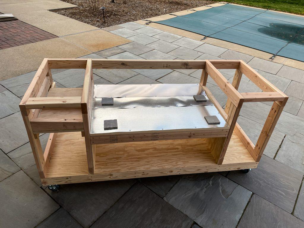 rec tec table frame