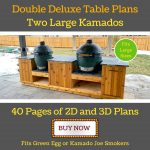 diy outdoor kitchen for large and XL green eggs