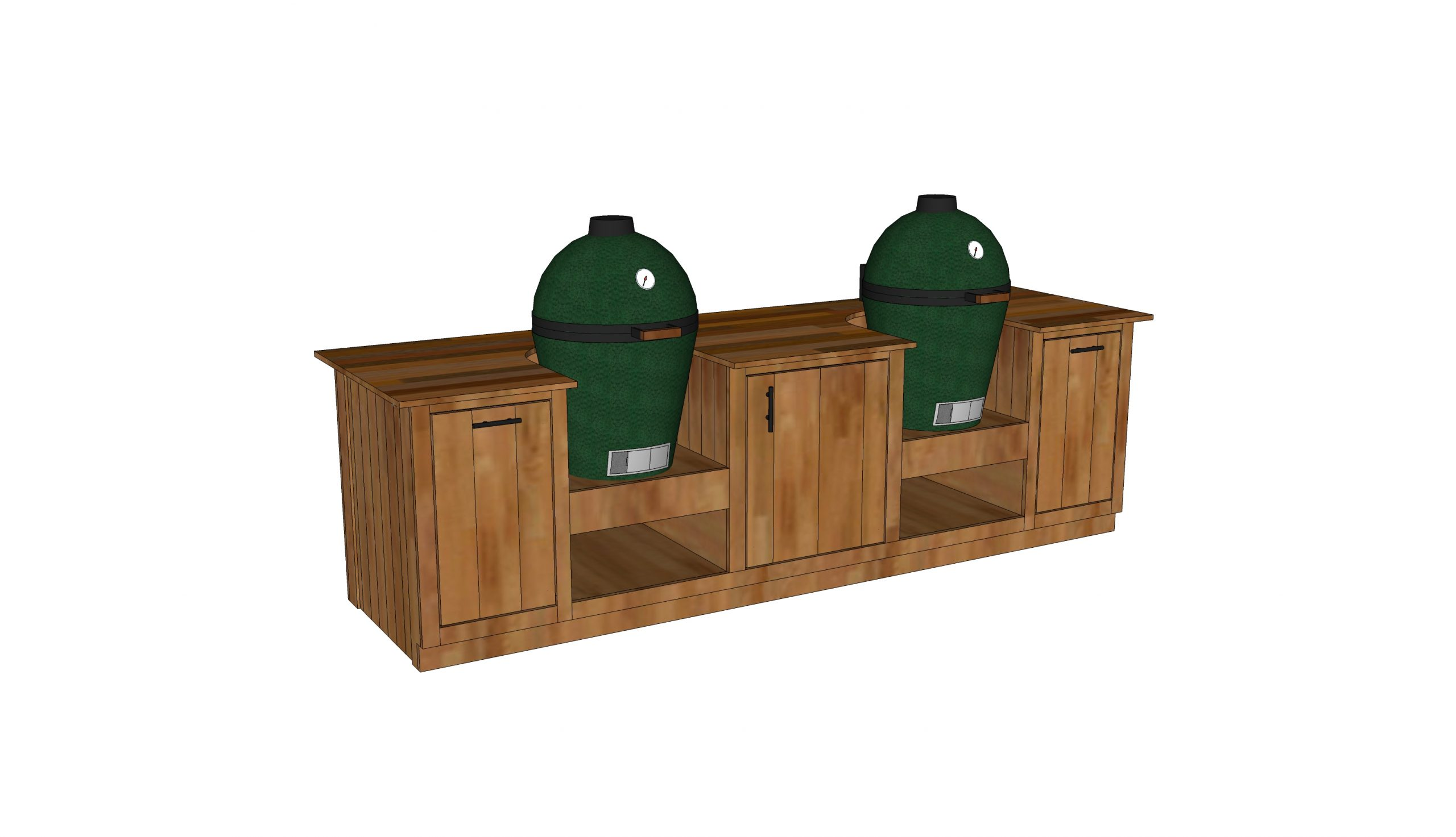 double green egg table plans