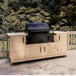 traeger grill cart plans diy