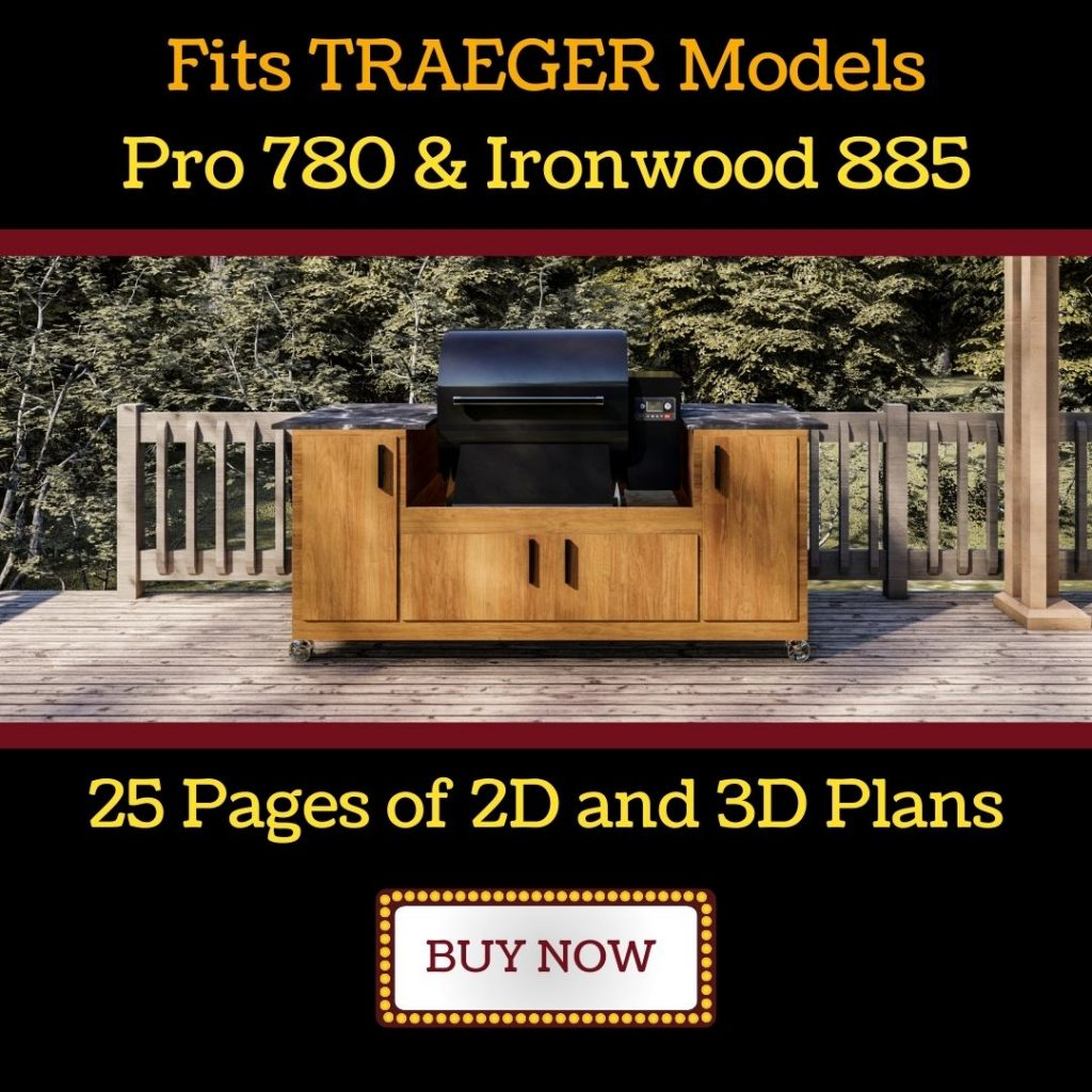 traeger grill table Pro 780 or Ironwood 885