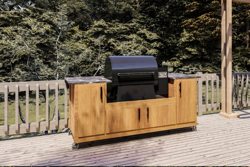 diy plans for traeger pro or ironwood smoker